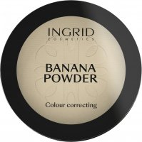 INGRID - BANANA POWDER - - Colour Correcting - Puder bananowy do twarzy