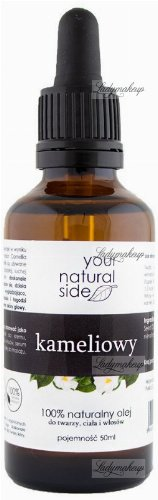 Your Natural Side - 100% naturalny olej kameliowy - 50 ml