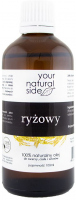 Your Natural Side - 100% naturalny olej ryżowy - 100 ml