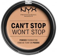 NYX Professional Makeup - CAN'T STOP WON'T STOP POWDER FOUNDATION  - Podkład do twarzy w pudrze - 07 - NATURAL - 07 - NATURAL