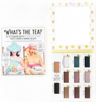 THE BALM - WHAT'S THE TEA? - Eyeshadow palette - Paleta 9 cieni do powiek - ICE TEA