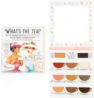 THE BALM - WHAT'S THE TEA? - Eyeshadow palette - Paleta 9 cieni do powiek - HOT TEA