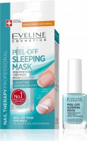 EVELINE - NAIL THERAPY PROFESSIONAL - PEEL OFF SLEEPING MASK - Odbudowująco-odżywcza maska do paznokci Peel Off
