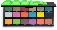 I Heart Revolution - SLIME CHOCOLATE - SHADOW PALETTE - Paleta 18 cieni do powiek