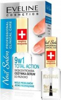 EVELINE - Nail Salon Professional - Total Action - Skoncentrowana odżywka-serum do paznokci - 12 ml