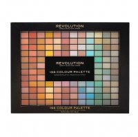 MAKEUP REVOLUTION - 196 COLOUR PALETTE - Zestaw 196 cieni do powiek