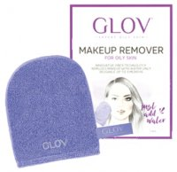 GLOV - HYDRO DEMAQUILLAGE - MAKEUP REMOVING GLOVE - For oily and mixed skin - EXPERT - Rękawica peelingująca do demakijażu do skóry tłustej i mieszanej