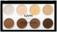 NYX Professional Makeup - HIGHLIGHT & CONTOUR CREAM PRO PALETTE - Paleta do konturowania
