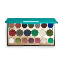 MAKEUP REVOLUTION - PRECIOUS STONE - SHADOW PALETTE - Paleta 20 cieni do powiek - EMERALD