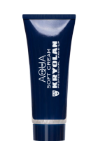 KRYOLAN - Aquacolor Soft Cream - Farba wodna do ciała - ART. 1128 - SILVER - SILVER