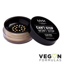 NYX Professional Makeup - CAN'T STOP WON'T STOP - SETTING POWDER - Utrwalający puder do twarzy
