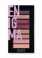 Revlon - LOOKS BOOK PALETTE - Mini paleta cieni do powiek - 920 ENIGMA