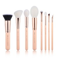 JESSUP - Classics Chrysalid Series Brushes Set - Zestaw 8 pędzli do makijażu - T455 Peach Puff/Rose Gold