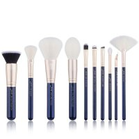 JESSUP - Classics Galaxy Series Brushes Set - Zestaw 10 pędzli do makijażu - T480 Prussian Blue/Golden Sands