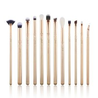 JESSUP - Classics Alchemy Brushes Set - Zestaw 12 pędzli do makijażu - T408 Golden/Rose Gold