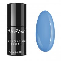 NeoNail - UV GEL POLISH COLOR - DELICIOUS - Lakier hybrydowy - 7,2 ml - 5639-7 - BLUE CREAM JELLY - 5639-7 - BLUE CREAM JELLY