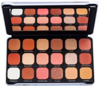 MAKEUP REVOLUTION - FOREVER FLAWLESS - SHADOW PALETTE - Paleta 18 cieni do powiek - DECADENT