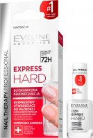 EVELINE - NAIL THERAPY PROFESSIONAL - EXPRESS HARD - Ekspresowy utwardzacz do paznokci - 12 ml