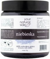 Your Natural Side - 100% naturalna glinka niebieska - 75 g
