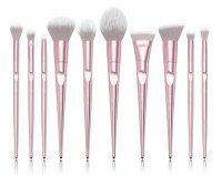 JESSUP - Luxury Series Brushes Set - Zestaw 10 pędzli do makijażu - T260 Metallic Pink