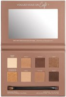 Bourjois - RUE DU CAFE - 4 IN 1 EYE PALETTE - Paleta cieni do powiek - 02 Chocolat Nude Edition