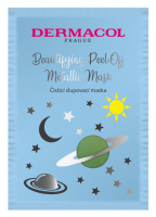 Dermacol - Beautifying Cleansing Peel-Off Metallic Mask - Oczyszczająca maska do twarzy - Peel Off