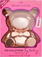 I Heart Revolution - Toy Factory Teddy Bear Palette - Paleta cieni do powiek - Rosie