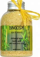 BINGOSPA - Spa & Beauty - Mineral Spa Bath Salt - Mineralna sól do kąpieli z kwasem hialuronowym - 650 g