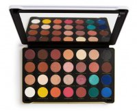 MAKEUP REVOLUTION - Patricia Bright - Rich in Life Shadow Palette - Paleta 28 cieni do powiek
