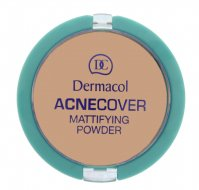 Dermacol - Acnecover Mattifying Powder - Puder matujący-HONEY - HONEY