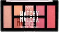 NYX Professional Makeup - MATCHY-MATCHY MONOCHROMATIC COLOR PALETTE - Paleta do makijażu twarzy - 02 Melon