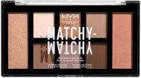 NYX Professional Makeup - MATCHY-MATCHY MONOCHROMATIC COLOR PALETTE - Paleta do makijażu twarzy - 01 Taupe