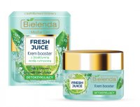 Bielenda - Fresh Juice - Detoxifing Cream Booster with Bioactive Citrus Water - Detoksykujący krem booster z bioaktywną wodą cytrusową - 50 ml