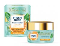 Bielenda - Fresh Juice - Moisturizing Cream Booster with Bioactive Citrus Water - Nawilżający krem booster z bioaktywną wodą cytrusową - 50 ml