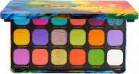 MAKEUP REVOLUTION - FOREVER FLAVLESS SHADOW PALETTE - Paleta 18 cieni do powiek - BIRDS OF PARADISE