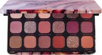 MAKEUP REVOLUTION - FOREVER FLAVLESS SHADOW PALETTE - Paleta 18 cieni do powiek - ALLURE