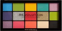 MAKEUP REVOLUTION - RE-LOADED - Paleta 15 cieni do powiek - EUPHORIA