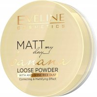 Eveline Cosmetics - Matt My Day - Banana Loose Powder - Sypki puder matujący o zapachu banana
