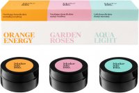 Make Me Bio - Klasyki - ORANGE ENERGY, GARDEN ROSES, AQUA LIGHT - Zestaw 3 kremów do twarzy - 3 x 20 ml